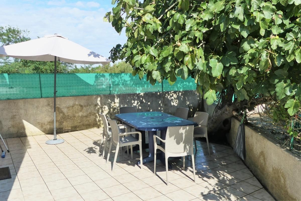 Salon de jardin - Location de vacances - Portiragnes-Plage