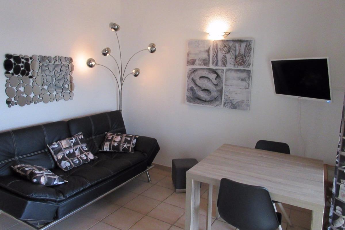 salon/séjour - Location de vacances - CAP-D'AGDE