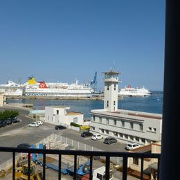 Vue depuis la loggia - Location de vacances - Sète