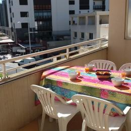 terrasse exposée Sud - Location de vacances - CAP-D'AGDE