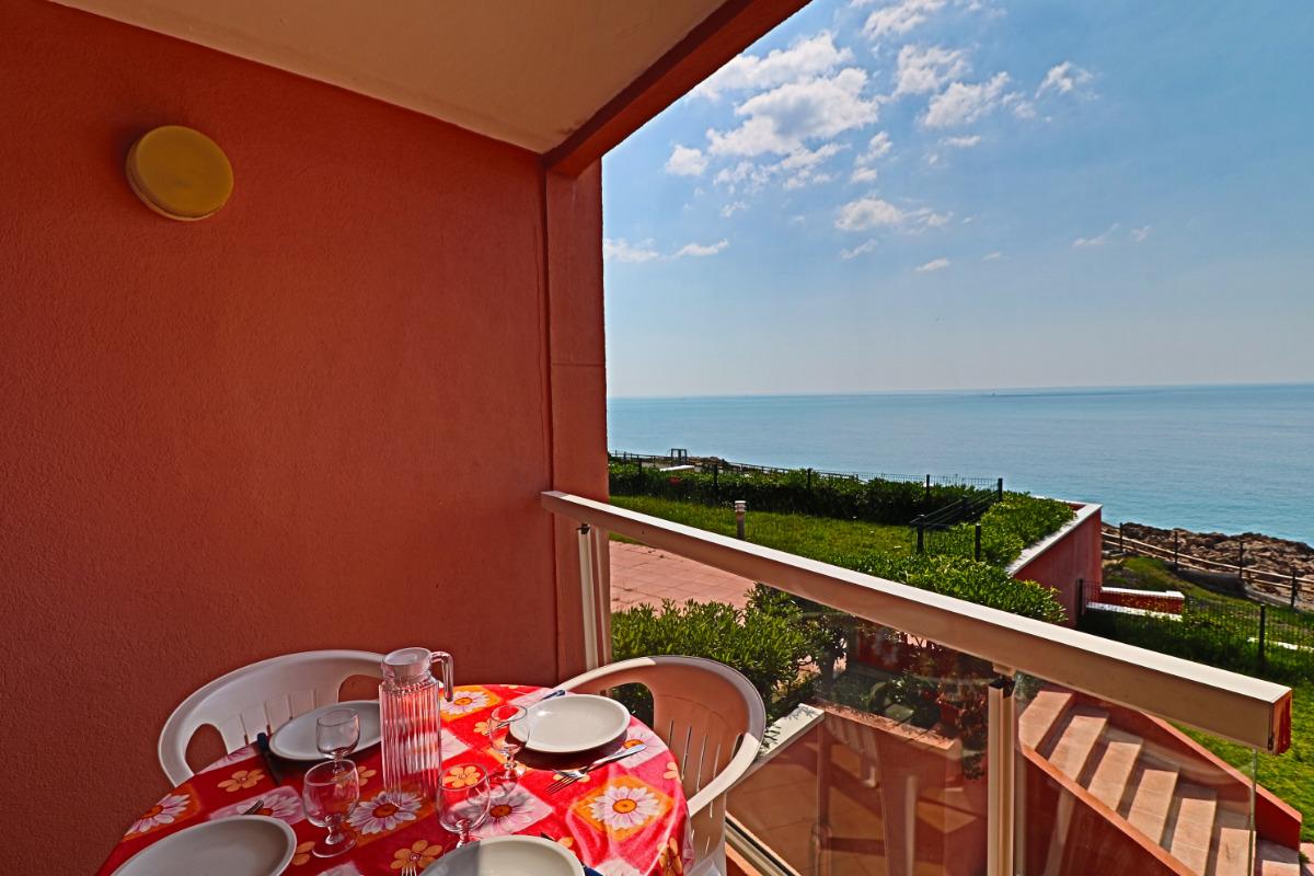 Terrasse et vue - Location de vacances - Sète