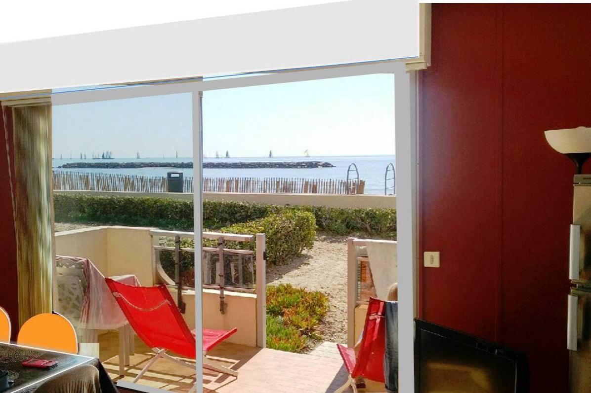 Grand appartement direct sur mer. Super toute l'année ! Prochaines disponibilités à partir du 1er Avril 2021. - Location de vacances - PALAVAS-LES-FLOTS