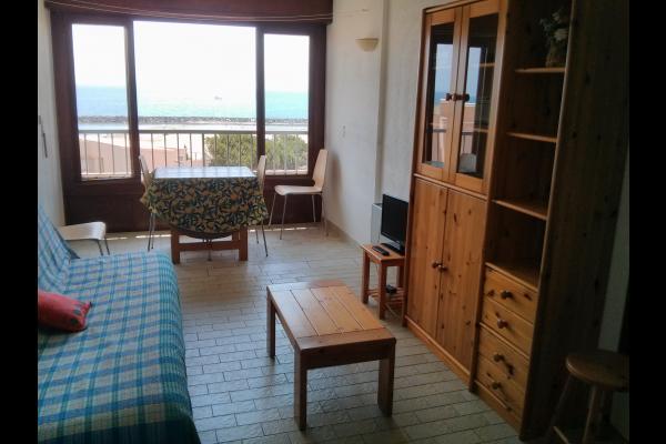 séjour/cuisine - Location de vacances - Sète