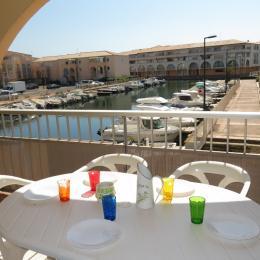 Terrasse avec vue - Location de vacances - Sète