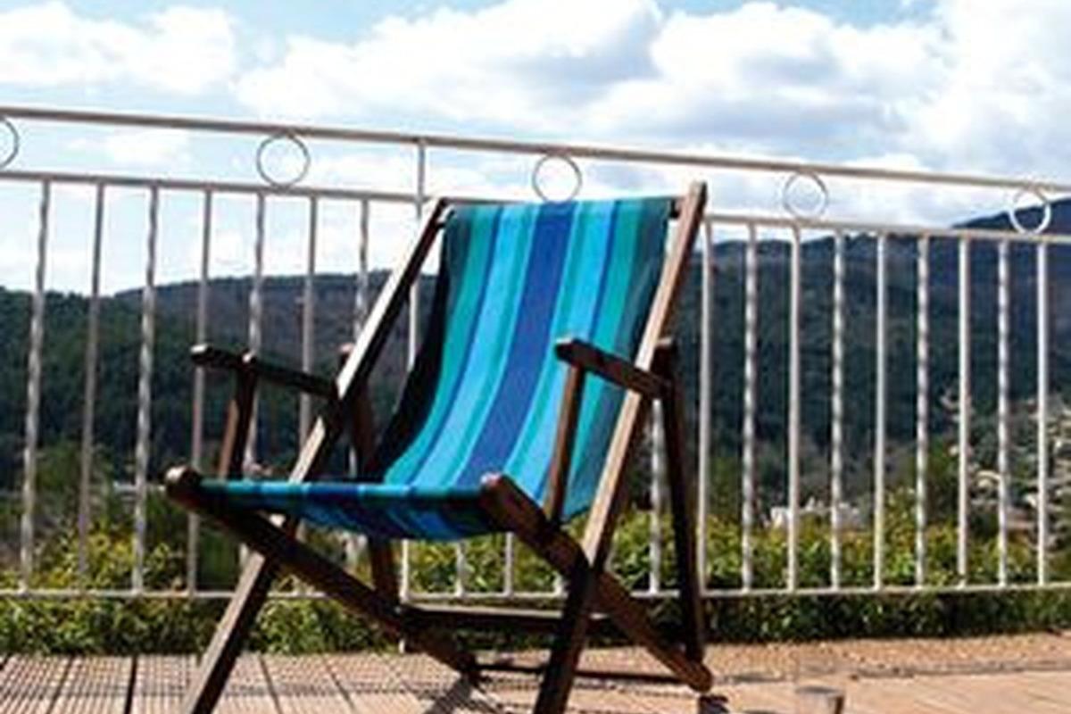 vue sur Lamalou les bains - Location de vacances - Lamalou-les-Bains