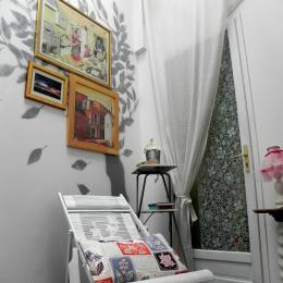 Le patio privé de la chambre Justine - Chambre d'hôtes - Bouzigues