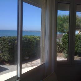 vue par la fenêtre de la cuisine - Location de vacances - le Grau D'agde