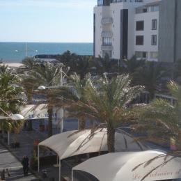 vue de la terrasse - Location de vacances - CAP-D'AGDE