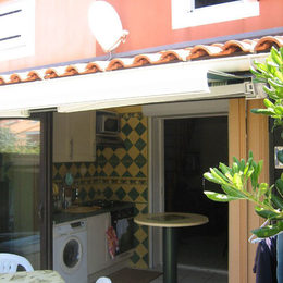 Vue chambre 2 (mezzanine) - Location de vacances - Frontignan Plage