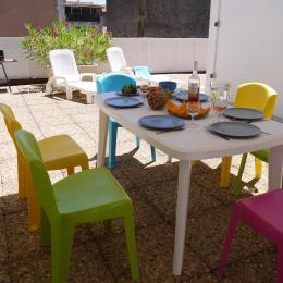 Terrasse solarium 70 m² - Location de vacances - Sète