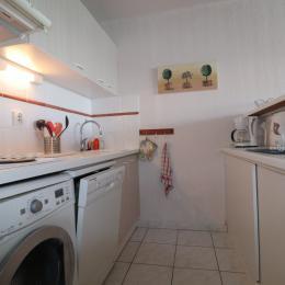 coin cuisine - Location de vacances - Sète