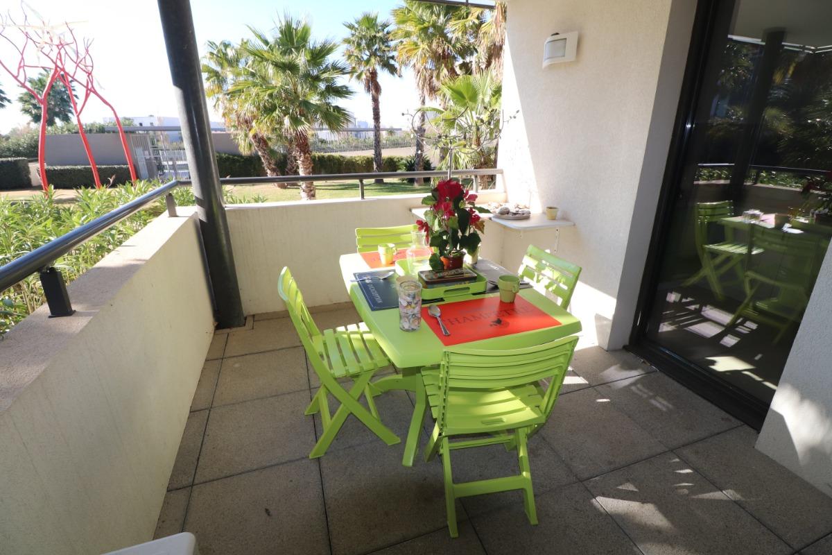 Terrasse  - Location de vacances - Sète