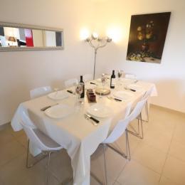 Salle à manger  - Location de vacances - Sète