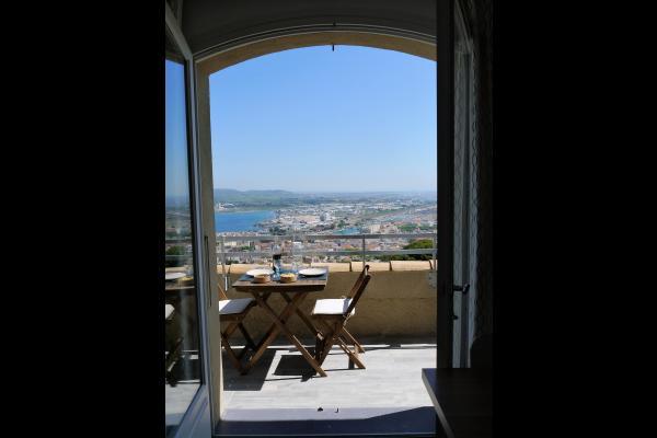 Au sommet du Mont St Clair, la vue au quotidien - Location de vacances - Sète