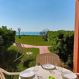 Piscine et pataugeoire de la résidence - Location de vacances - Sète