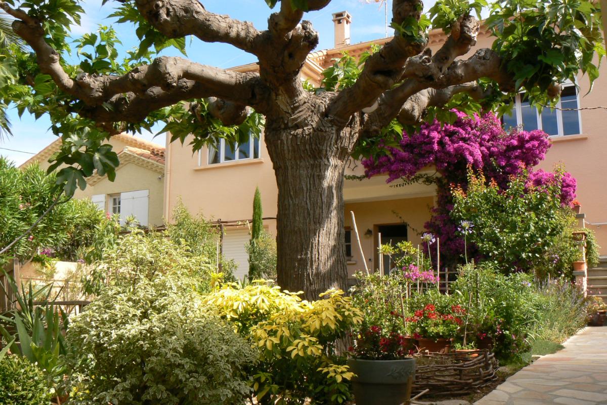 l'entrée de la villa - Chambre d'hôtes - Sète