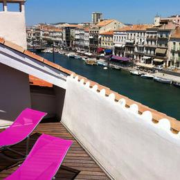 Vue de la terrasee - Location de vacances - Sète