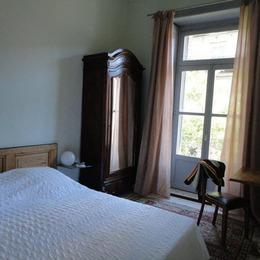 chambre grand lit sur balcon - Location de vacances - Montpellier