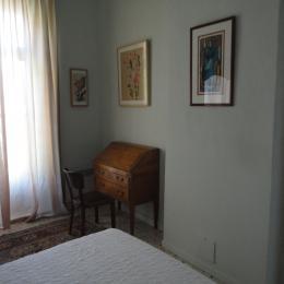 chambre avec petit balcon et grand lit - Location de vacances - Montpellier