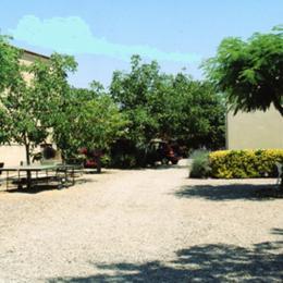 jardin de la résidence - Location de vacances - Vias