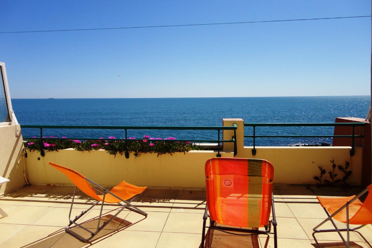 Vue de la terrasse - Location de vacances - Sète