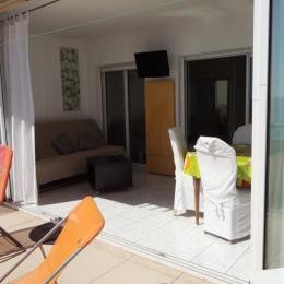Loggia et terrasse - Location de vacances - Sète