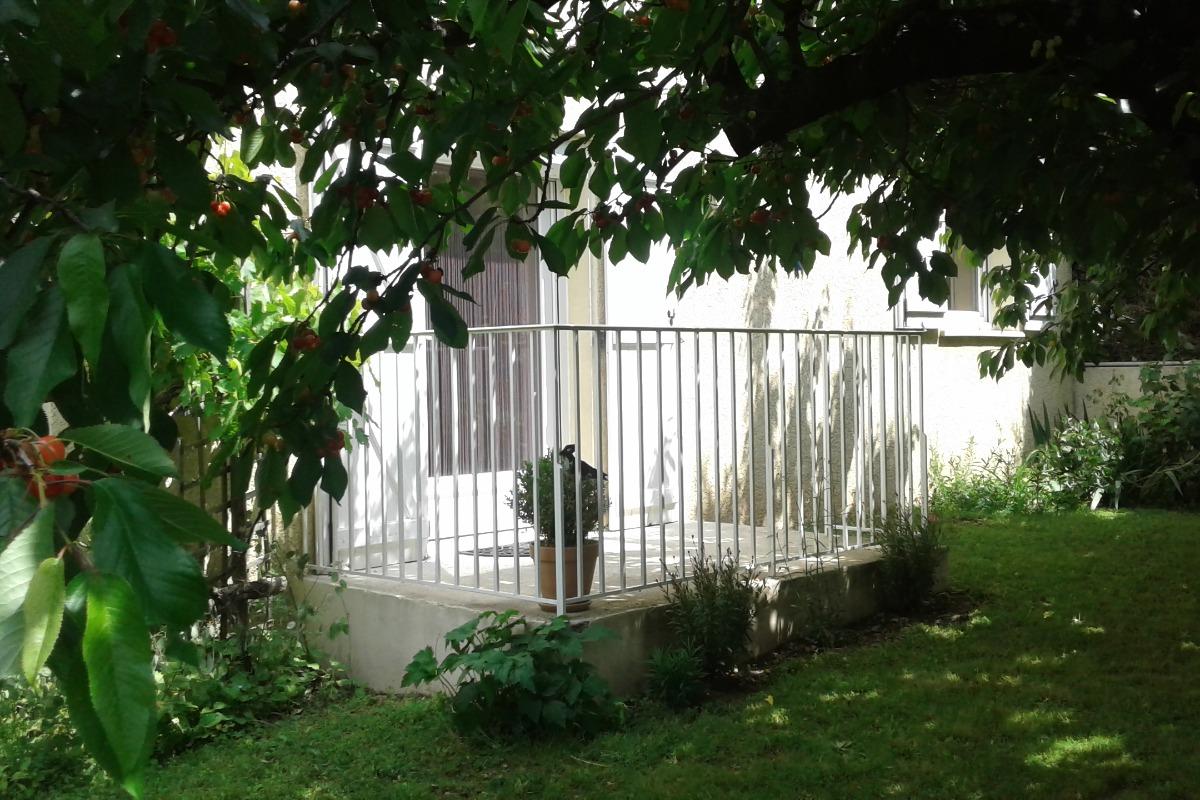 Jardin avec terrasse - Location de vacances - Lamalou-les-Bains