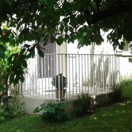 Terrasse et jardin - Location de vacances - Lamalou-les-Bains