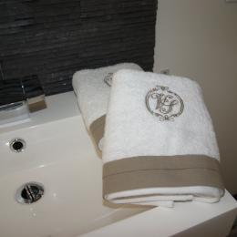 Linge de toilette - Chambre d'hôtes - Castelnau-le-Lez