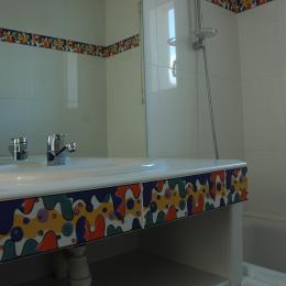 Salle de bains ONYX - Chambre d'hôtes - Saint-Clément-de-Rivière