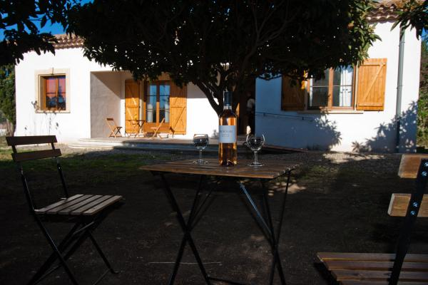 Terrasse jardin - Location de vacances - Pézenas