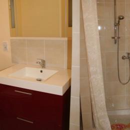 Salle de douche/wc - Location de vacances - Lamalou-les-Bains