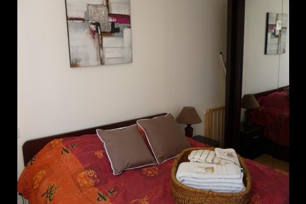 Chambre parentale - Location de vacances - Portiragnes Plage