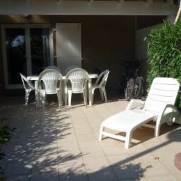 Terrasse - Location de vacances - Portiragnes Plage