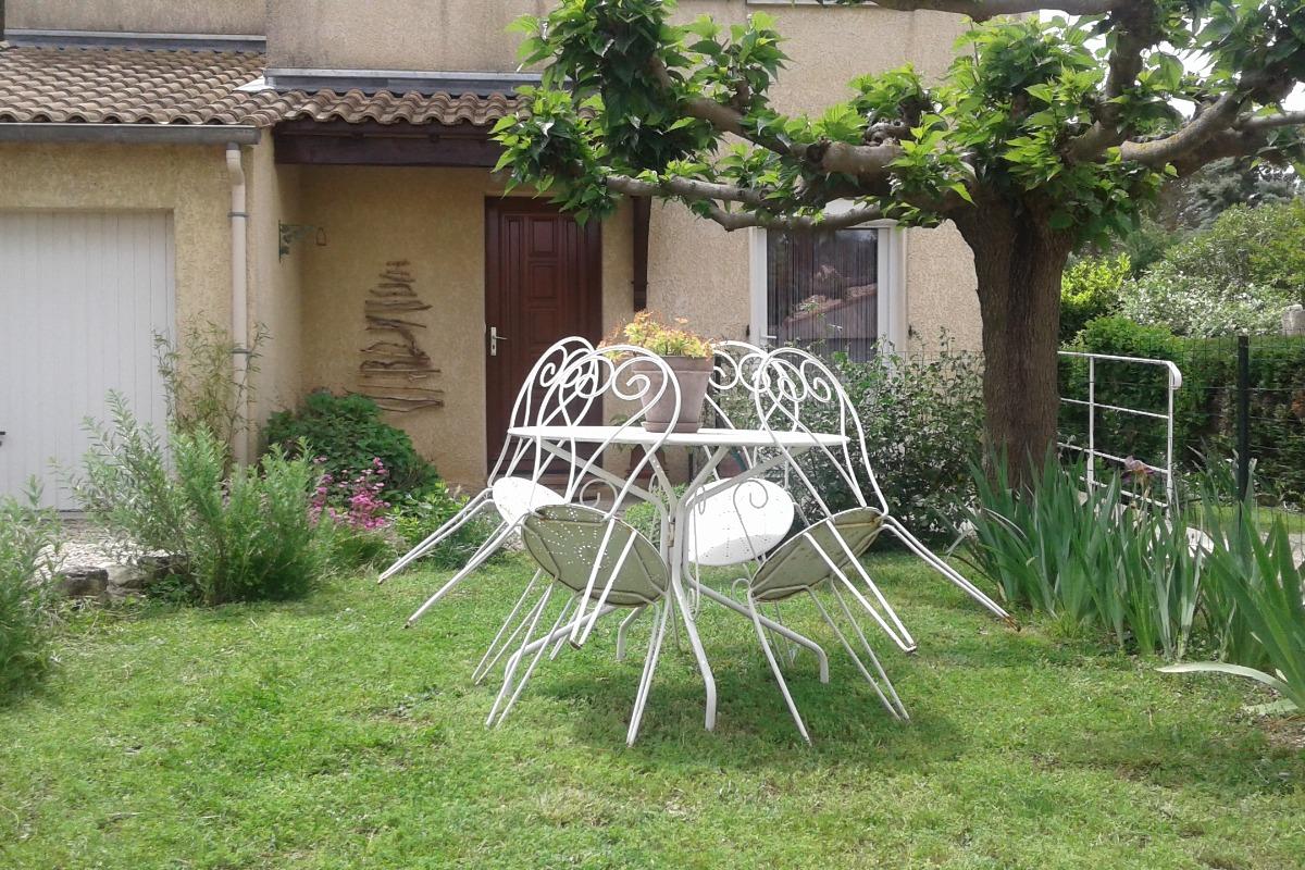 Coin salon - Location de vacances - Lamalou-les-Bains