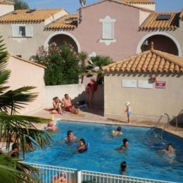 Piscine dans résidence - Location de vacances - Cap D'agde
