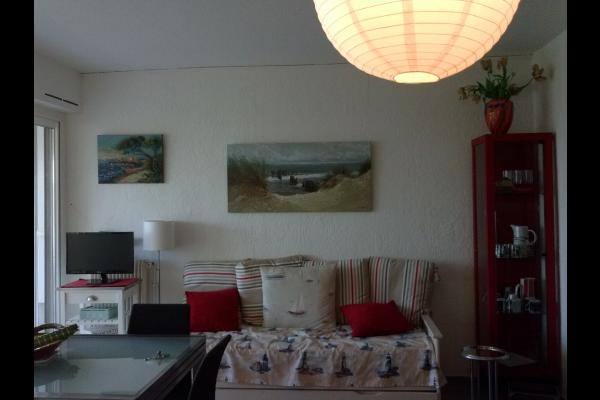 lit gigogne servant de banquette - Location de vacances - CARNON PLAGE