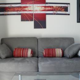 Le canapé Rapido pour un couchage quotidien de grand confort - Location de vacances - Valflaunès