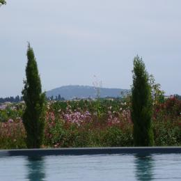 Piscine vue sur Mont Saint Clair - Location de vacances - MEZE