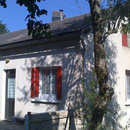 Maison vue de l'extérieur - Location de vacances - La Salvetat-sur-Agout