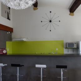 Comptoir cuisine - Location de vacances - Pézenas