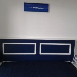 chambre avec lit de 160 - Location de vacances - Le Bosc