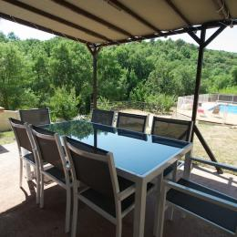terrasse - Location de vacances - Le Bosc