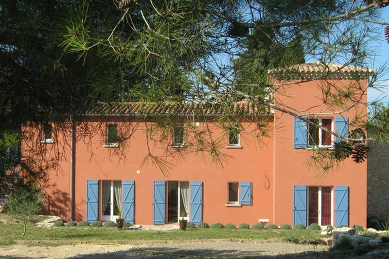 Façade arrière du gîte - Location de vacances - Saint-Pons-de-Mauchiens