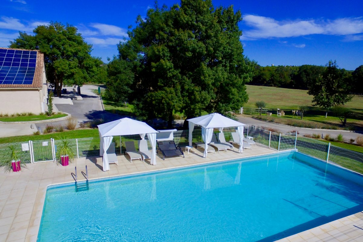piscine - Location de vacances - Le Crès
