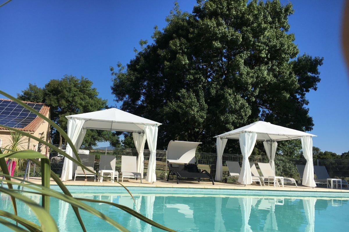 terrasse - Location de vacances - Le Crès