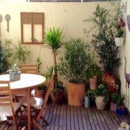 Terrasse en bois  - Location de vacances - Montpellier