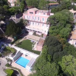 Vue aérienne maison - Chambre d'hôtes - Sète