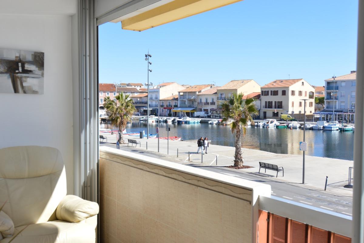 Vue de l'appartement  - Location de vacances - MEZE
