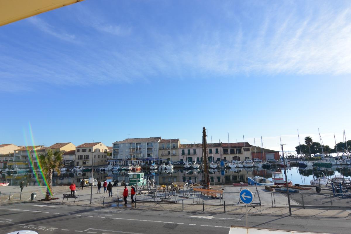 vue sur le port  - Location de vacances - MEZE